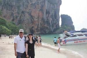 Henry & Susan @ Pra Nang Island