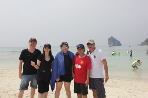 Colleagues & I @ Tub Island