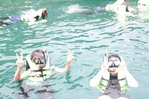 Snorkeling near Tuk Tuk Island