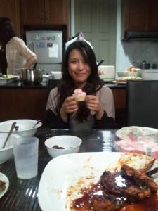 Yaya's Bday Cupcake