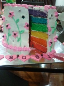 Yaya's Rainbow Cake
